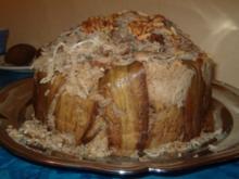 Gestürzter Auberginen-Reis-Topf - Rezept