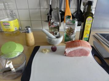 Kümmelbraten vom betrunkenen Schwein - Rezept