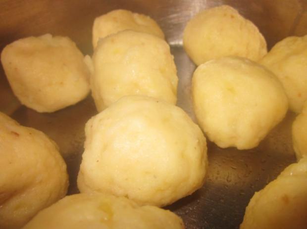 Kartoffelklöße - Rezept