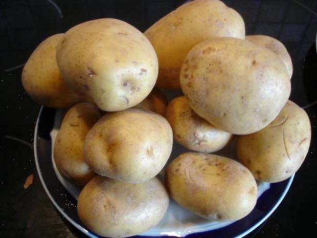 Selbstgemachter Kartoffelpuffer und selbstgemachtes Apfelmus - Rezept - Bild Nr. 3