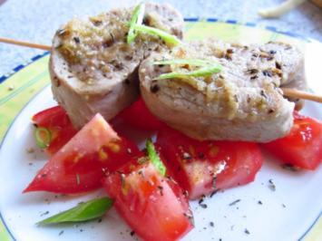 Schweinemedaillons mit Honig-Ingwer-Marinade - Rezept