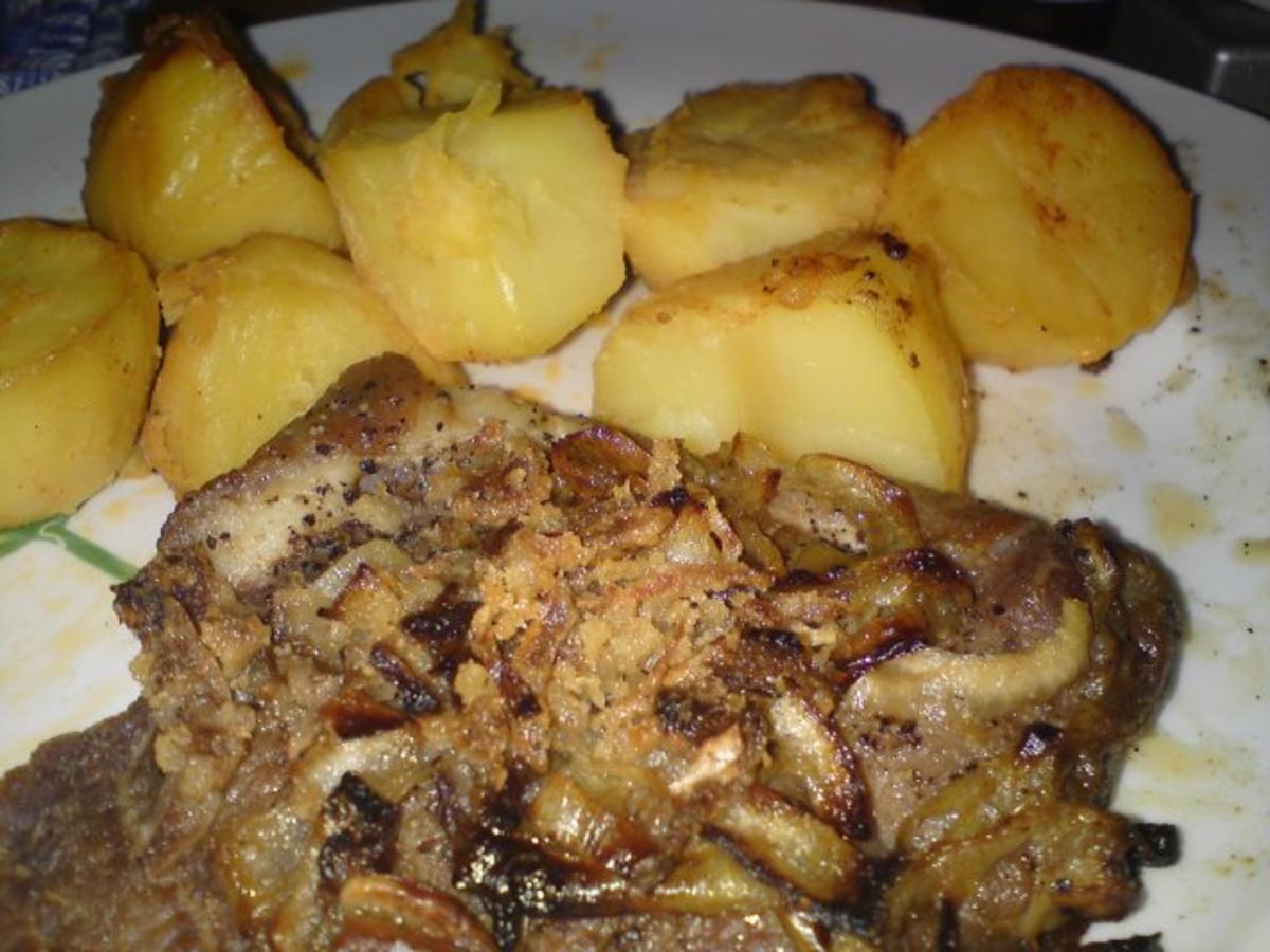 Bilder für Schweinenackensteak ala Karin - Rezept