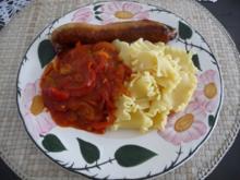 Resteverwertung : ..aus meines Tomatengemüses - Rezept