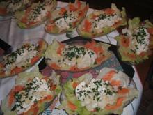 Salate: Salat von Spargel mit Räucherlachs - Rezept