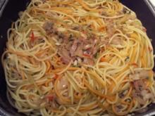 Anni´s Knoblauch-Spaghetti - Rezept