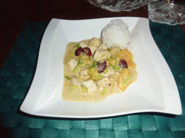 Karibisches Hähnchencurry - Rezept