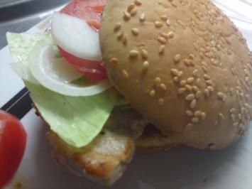 Burger light - Rezept