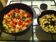 Rotes Thai Curry mit Tofu - Rezept