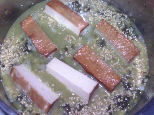 Grünkohl mit Räuchertofu - Rezept - Bild Nr. 5