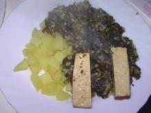 Grünkohl mit Räuchertofu - Rezept