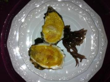 Beschwipste überbackene Austern - Rezept