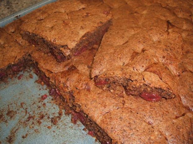 Backen Schokoladenkuchen Mit Kirschen Rezept Kochbar De