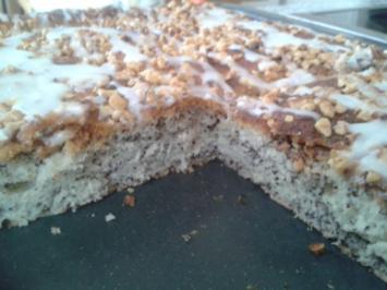 Mohnkuchen vom Blech - Rezept