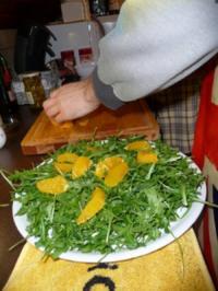 Rucola-Orangen Salat - Rezept