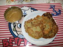 Irenes selbst gemachte Reiberdatschi - Kartoffelpuffer mit Apfelmus aus dem Glas ! - Rezept