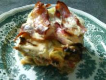 falsche Lasagne mit Wirsing statt Lasagneplatten - Rezept