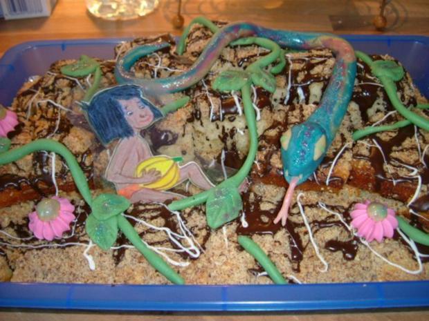 Dschungel Kuchen - Rezept
