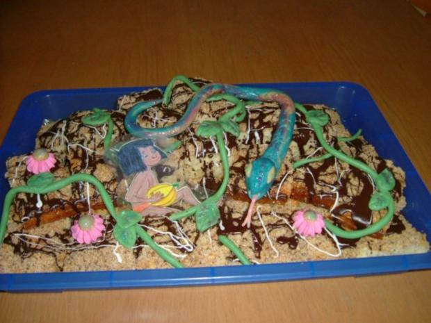 Dschungel Kuchen - Rezept - Bild Nr. 2