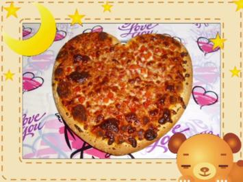 Pizza Amore - Rezept