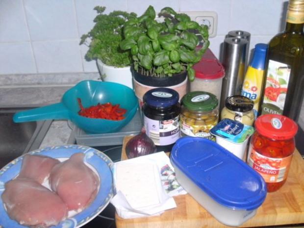 Hähnchen-Cordon-Bleu pikant gefüllt - Rezept - Bild Nr. 2