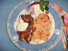 Hähnchen-Cordon-Bleu pikant gefüllt - Rezept