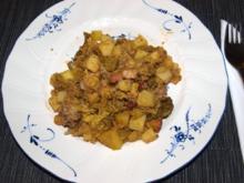Weißkohleintopf                 (Irish Lamm - Stew) - Rezept