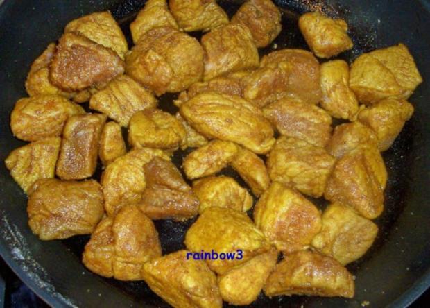 Kochen: Schweinegulasch, indisch angehaucht - Rezept - Bild Nr. 3