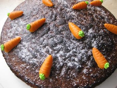 Karottenkuchen - Rezept