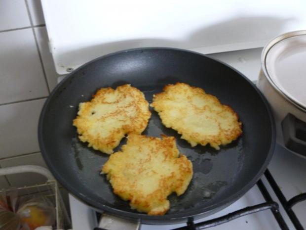 knusprige Kartoffelpuffer - Rezept