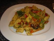 Schnelle Asia-Reis-Pfanne - Rezept