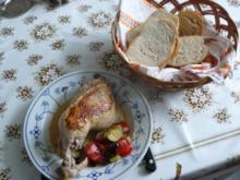 Hähnchenschenkel provenzialisch - Rezept