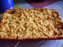 Streuselkuchen mit Lemon-Curt Füllung - Rezept