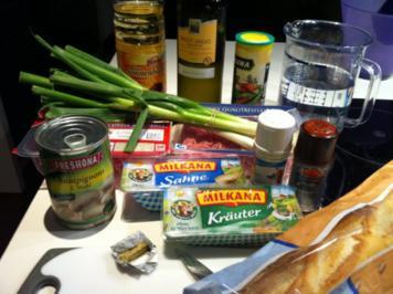 Käsesuppe mit Hackfleisch, Porree und Weißwein - Rezept
