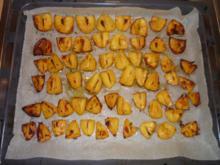 Gebackene Kartoffeln mit Knoblauch - Rezept