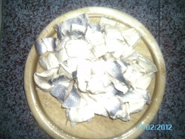 Heringsalat (traditionell einfach) - Rezept - Bild Nr. 2
