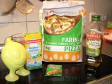 Pizza Teig einfach - Rezept