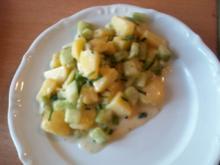 Kartoffel-Gurkensalat mit Schnittlauch - Rezept