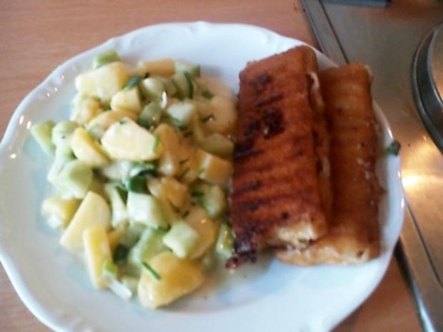 Kartoffel-Gurkensalat mit Schnittlauch - Rezept - Bild Nr. 2