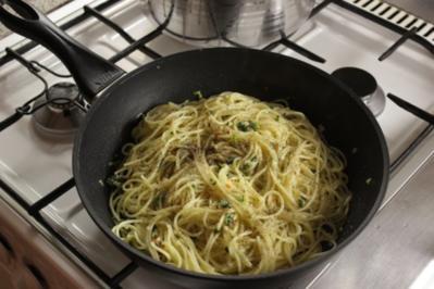 """Pasta: Spaghetti """"Aglio e Olio alla Nonna"""" - Rezept"""