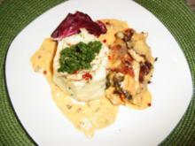 Mangold- Schinken- Röllchen - Rezept