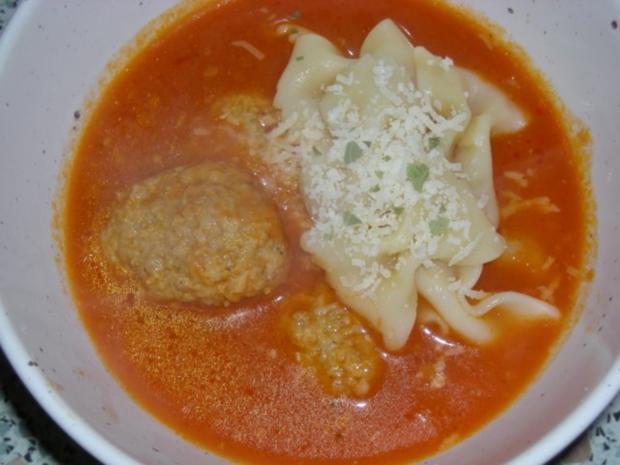 Tomatensüppchen mit Klößchen - Rezept - Bild Nr. 4