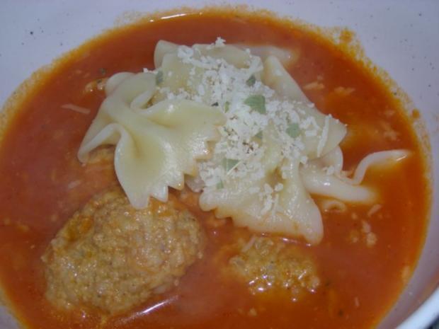 Tomatensüppchen mit Klößchen - Rezept - Bild Nr. 5