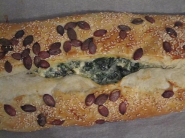 Spinat-Feta-Strudel - Rezept - Bild Nr. 8