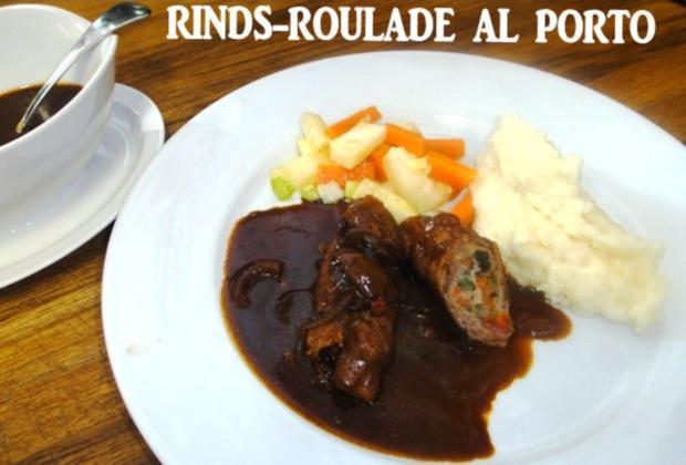 Rinds-Roulade au Porto mit Wurzelgemüse und Pürrée - Rezept - Bild Nr. 19