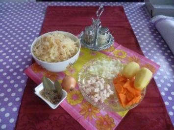 Oma's  Sauerkraut - Rezept