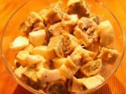 Maultaschen-Hering-Eier-Salat - Rezept