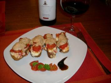 Bruschetta del pastor>> - Rezept