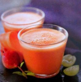 Granatapfel-Orangen-Smoothie - Rezept