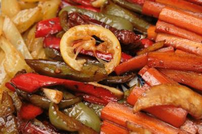Rezept: Antipasti 4 - Karottensticks, mediterran