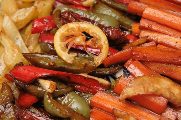 Antipasti 4 - Karottensticks, mediterran - Rezept